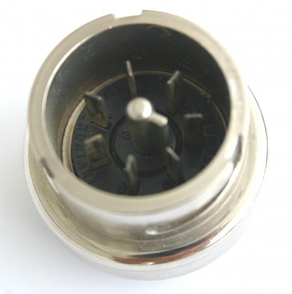 Amphenol Tuchel 8 Pol Einbaustecker T3039-000 für Neumann M49 / M50