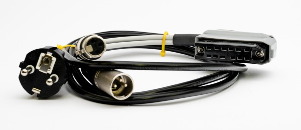 SonicWorld Anschlussadapterkabel für V72/ V76 mit 12pol Buchsenleiste und XLR IN/OUT