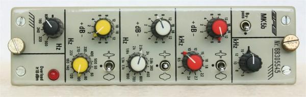 Filtek MK5 3-band Equalizer