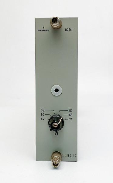 Siemens U274 Mikrofon-/ Kommandoverstärker, gebraucht, geprüft