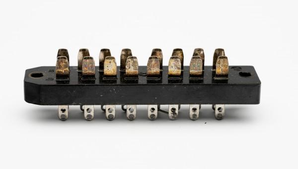 Siemens/ Tyco oder Amphenol Tuchel DIN 41622, 16 Pol Messerleiste GEBRAUCHT