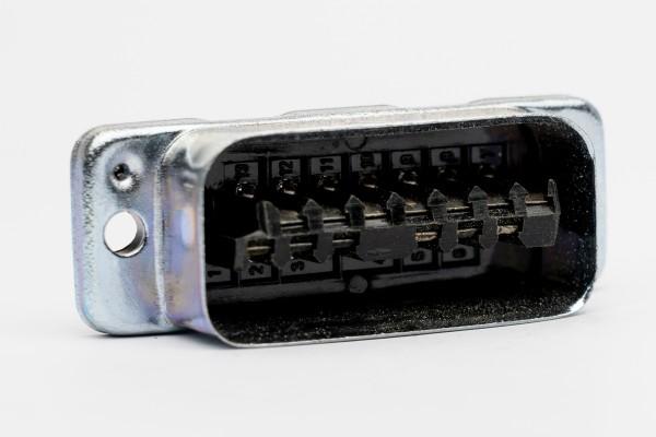 Amphenol Tuchel 13 Pol Steckerleiste T2706 für Siemens W295/ EMT etc NEU