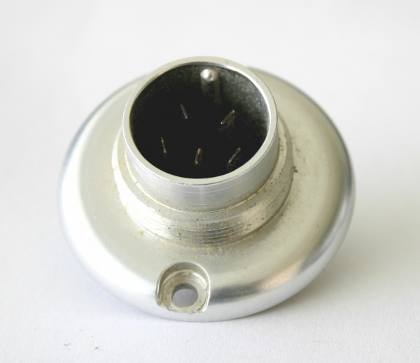 Amphenol Tuchel 5 Pol Einbaustecker T3085-006 gebraucht