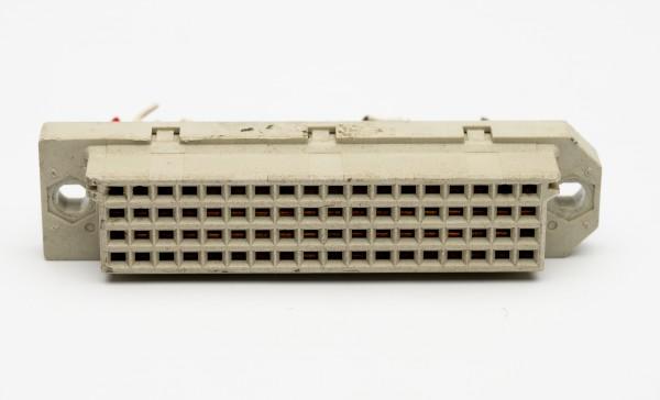 Siemens DIN 41618, 72 polige vergoldete Federleiste gebraucht