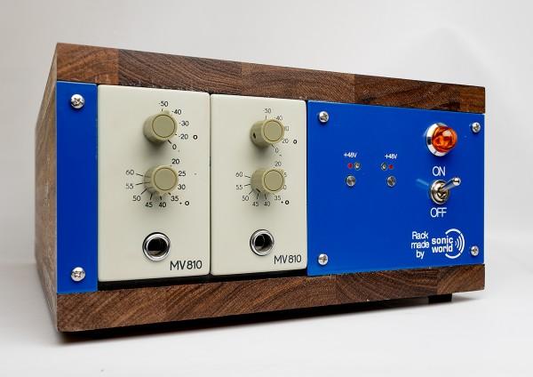 SonicWorld Custom Holzrack für 2 x RFT MV810