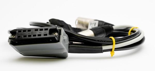 SonicWorld Anschlussadapterkabel für V74 mit 12pol Buchsenleiste und XLR IN/OUT