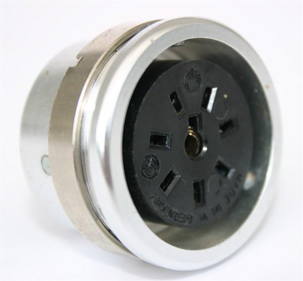 Amphenol Tuchel 8 Pol Einbaubuchse T3053-000 für Neumann M49 / M50 gebraucht