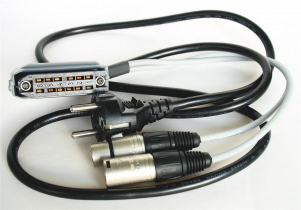 SonicWorld Anschlussadapterkabel für Maihak/ Telefunken / Siemens / TAB V72/ V72a/ V76/ V78 mit 12po