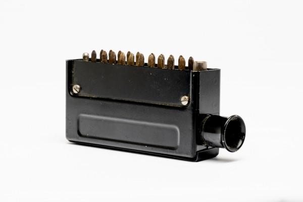 Siemens/ Tyco oder Amphenol Tuchel DIN 41622, 20 polige versilberte Messerleiste mit Metallgehäuse