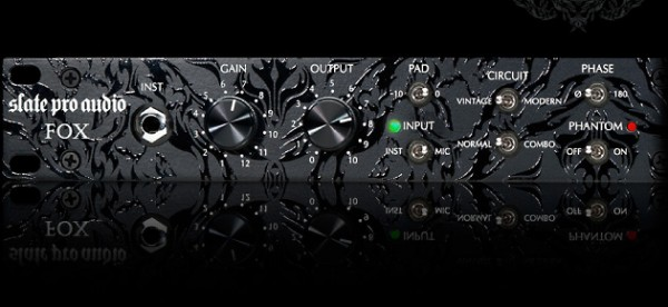 Slate Pro Audio Fox Vorverstärker