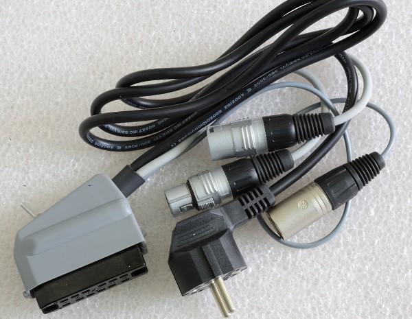 SonicWorld Anschlussadapterkabel für Maihak/ Telefunken / Siemens / TAB V72 / V72a / V76 und V78