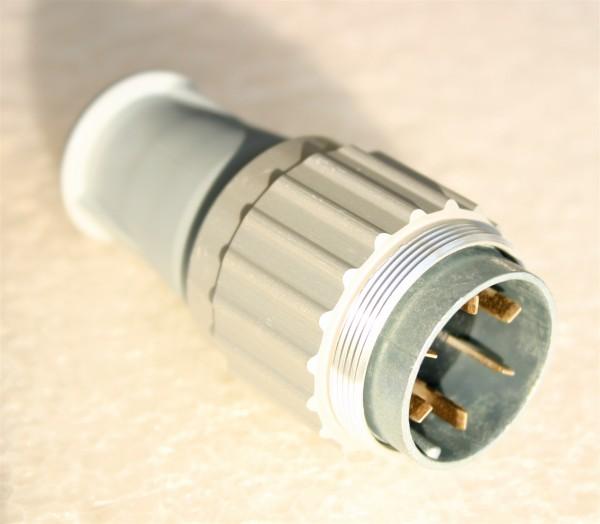Amphenol Tuchel 6 Pol Kabelstecker T3037-010 für Neumann U47 / U48