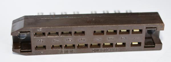 Siemens DIN 41622 16pol Buchsenleiste NEU